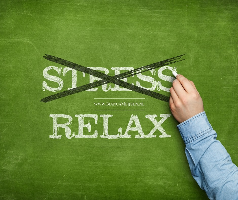 Don't stress... Relax!